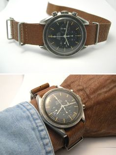Now this is truly vintage Speedy. Love the soft patina.  #omega #speedmaster