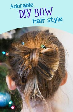 Learn how to create a DIY bow hair style with your hair, so cute! Creative hair designs like a DIY bow hair style are fun to create for special occasions! Diy Hanging Shelves, Diy Wall Shelves, Diy Bow, Diy Hair Bows, Mason Jar Crafts, Mason Jar Diy, Diy Home Decor Projects, Diy Projects To Try, How To Make Paper