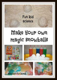 Momma's Fun World: Rainbow Magic Snowball Science