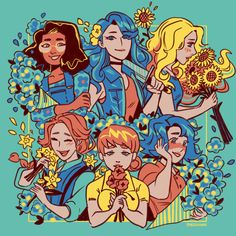 Bachelorette Bouquet by The Yetee Game Character, Character Design, Stardew Valley Fanart, Farm Games, A Hat In Time, Animal Crossing, Art Reference, Wallpaper, Video Game Art