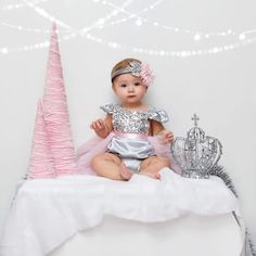 Online Children's Boutique featuring the latest trends and custom high end clothing for little girls ages newborn to 8 years old. First Birthday Winter, Baby Girl 1st Birthday, First Birthday Photos, First Birthday Outfits, Birthday Ideas, Princess First Birthday, Birthday Pictures, Winter Wonderland Outfit, Winter Wonderland Birthday