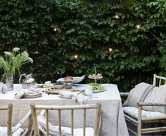 An Afternoon Tea In My Backyard - Fit For Royalty! - with the Danish Bernadotte collection from Georg Jensen Afternoon Tea, Table Settings, Royalty, Outdoor Spaces, Outdoor Decor, Backyard, Brand Story, Scandinavian Home, Danish