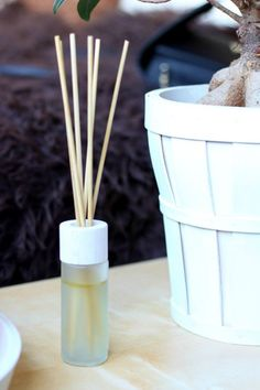How to make your own, all natural, reed diffuser.