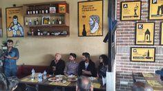 Star cast of #Khamoshiyan at The Beer Cafe.