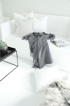 Nice white sofa