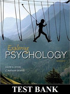 Abnormal psychology 16th edition by james n butcher pdf exploring psychology 10th edition test bank fandeluxe Choice Image