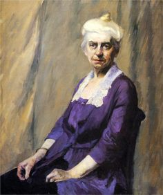 Edward Hopper - Elizabeth Griffiths Smith Hopper, The Artist's Mother, 1916 American Realism, American Artists, Female Portrait, Female Art, Manet, Edward Hopper Paintings, Ashcan School, Statues, Portraits