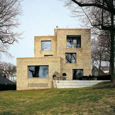david chipperfield, Private House Blankenese, Hamburg