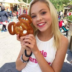 pretzels taste better in Mickey Mouse form... tag a friend you'd share this with