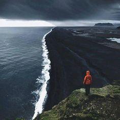 Spiaggia nera, Islanda