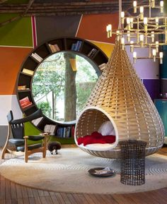 Cool Hippie Furniture | Cool furniture image via Namaste Cafe at www.Facebook.com ...