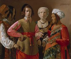 "Georges de La Tour ""The Fortune Teller"" c.1630"