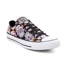 Converse Chuck Taylor All Star Lo Sugar Skulls Sneaker