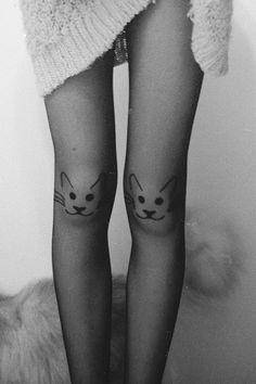 black cat #halloweeninspo Gatos Cats, Cat Tights, Cat Leggings, Crazy Cat Lady, Crazy Cats, Happy Kitty, Kitty Kitty, Cute Outfits, Classy Outfits
