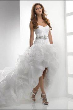 Fun wedding dress for reception