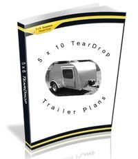 Best Teardrop Trailer Plans With Instructions And Materials List. Over 60 Pages.