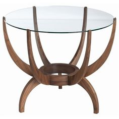 ARTERIORS Home Oswald Solids / Glass End Table