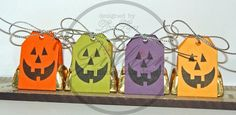 Halloween Nugget Tags by lisa lara - Cards and Paper Crafts at Splitcoaststampers