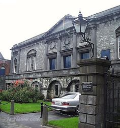 Kilkenny Courthouse formerly known as Grace's Castle was originally a town house of the wealthy Grace family who leased the building to the crown in 1566. The building was used as a jail from 1566 and was transformed into a courthouse around the end of the 18th century. Archival material suggest that Sir Jerome Fitzpatrick carried out the extensive renovations to convert the building into a courthouse. Architect William Robertson remodelled the façade added other features such as a balcony…
