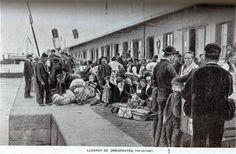 Llegada de Inmigrantes en 1902