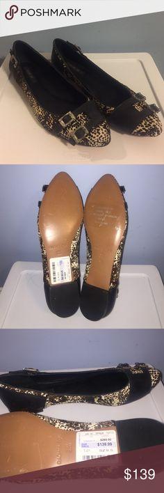 Rachel Zoe flats Beautiful Rachel Zoe flats. NWT (no box). Never worn size 9.5. Dyed calf fur. High quality. Rachel Zoe Shoes Flats & Loafers