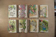 repurposed vintage children's book notebook. $10.25, via Etsy.