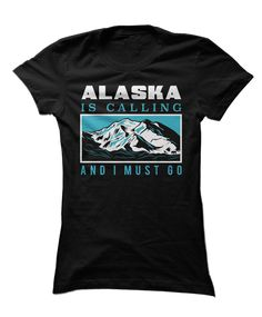 Show off your wanderlust for Alaska with this cool tee!