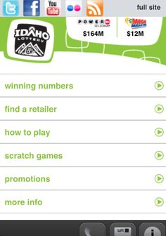 Have you used our mobile site? Just type idaholottery.com on your mobile device and BOOM!