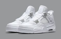 separation shoes 7f2f8 606ca Nike Air Jordan 4 Pure Money White   Style Code 308497-100