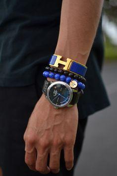 mens hermes h bracelet