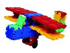 Clics bouwsysteem is leerzaam speelgoed
