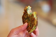 Egg Foo Young-ish (Spinach, Egg, Ham & Coconut Pancakes) by Michelle Tam http://nomnompaleo.com