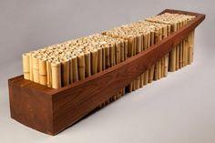 tolle bambus möbel deko sitzbank design