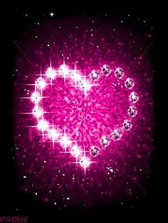 Pink Glitter Heart gif by Cute_Stuff | Photobucket