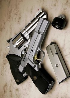 S&W .357 Magnum and Browning High Power 9mm/HiCap