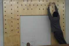 d i y pegboard