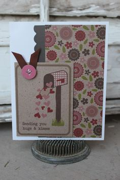 Xyron Design Team Member Ann Corbierre-Scott's Valentine's Day Card