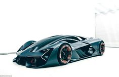 Instead of conventional batteries, the Terzo Millennio uses electric supercapacitors, which are currently used to power smaller components in its cars