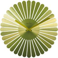 Dixon Green Petal Wall Clock 40cm