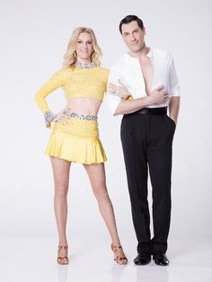 Heather Morris and Maksim Chmerkovskiy - Dancing with the Stars partners Heather Morris and Maksim Chmerkovskiy