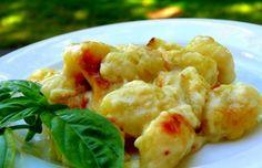 ¿Que os gustaría comer hoy? ¿Os apetece que hagamos una receta de ñoquis rellenos? Estos ñoquis rellenos es una receta típica italiana.