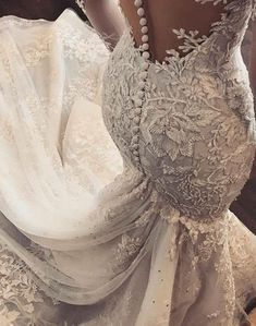 GAYCHUN Classic Heavy beads sequins embroidery lace | Etsy Off White Wedding Dresses, V Neck Wedding Dress, Perfect Wedding Dress, Bridal Dresses, Dream Wedding, Wedding Gowns, Wedding Dinner, Wedding Attire, White Lace Fabric