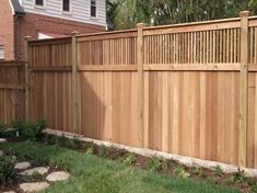Awesome Deck With Privacy Fence Images | Related Post From Privacy Fence Ideas.  Backyard ...