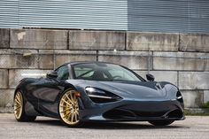DREAM GARAGE: McLaren 720S with HRE P103 wheels from Wheels Boutique | Essential Style for Men.