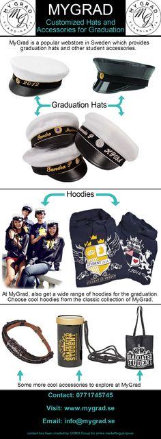 MyGrad är ett välkänt svenskt företag som säljer som studentmössor , kläder och övriga accessoarer online. Köp en fin studentmössa av hög kvalite på MyGrad