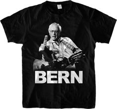 The Bernie Sanders / Johnny Cash T-shirt mashup America has been waiting for | Dangerous Minds