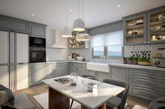Esnafoglu Home #kitchen #interiors