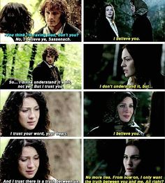 Loved how they did that final scene between Claire & Brianna & how it…