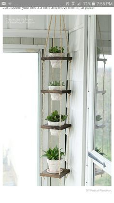 Home decor - No patio No problem You can still build a lush summer garden inside your four walls, no matter how much living space you have Weve rounded up more than a dozen indoor garden projects that take shap Decor Room, Room Decorations, Diy Home Decor, Balcony Decoration, Wall Decor, Rope Decor, Diy Decorations For Home, Diy Crafts Room Decor, Backyard Decorations