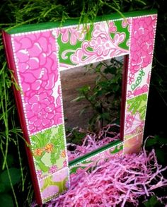 I was browsing Pinterest and saw a ton of cute crafts using Lilly fabric, but couldn't find the materials it anywhere! That's when I realized that I could decorate a number of things with the same effect for almost no cost using the leftover pages from last years' planner. I... Read More →